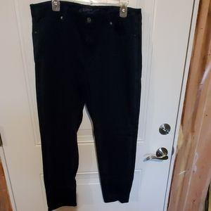 Women's Size 19 Navy Blue Pants